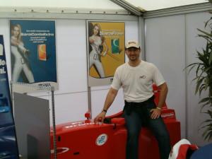 Ferrari Challenge - Hospitality Composite - MIK Corse -Playteam